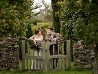 Extraordinary Real Wedding: Phoebe & Steven's Rustic Barn Themed Day.