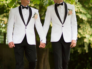 Extraordinary Real Wedding:Less is more ... A romantic and delicate theme for Mark and Oliver