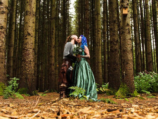 Extraordinary Real Wedding: Jennifer and Ewan's Viking Themed Day