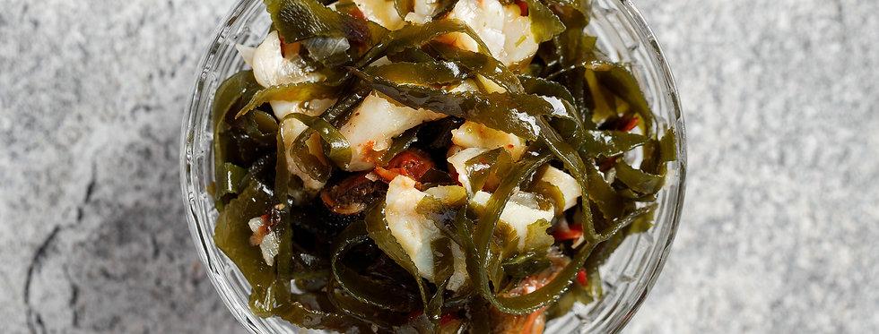 Морская капуста с морепродуктами