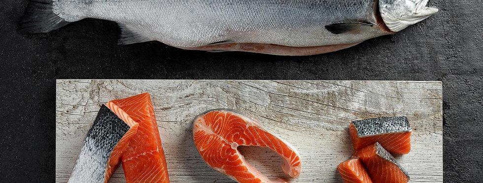 лосось Охолоджений