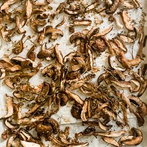 Roasted Mushroom Fontina Compound