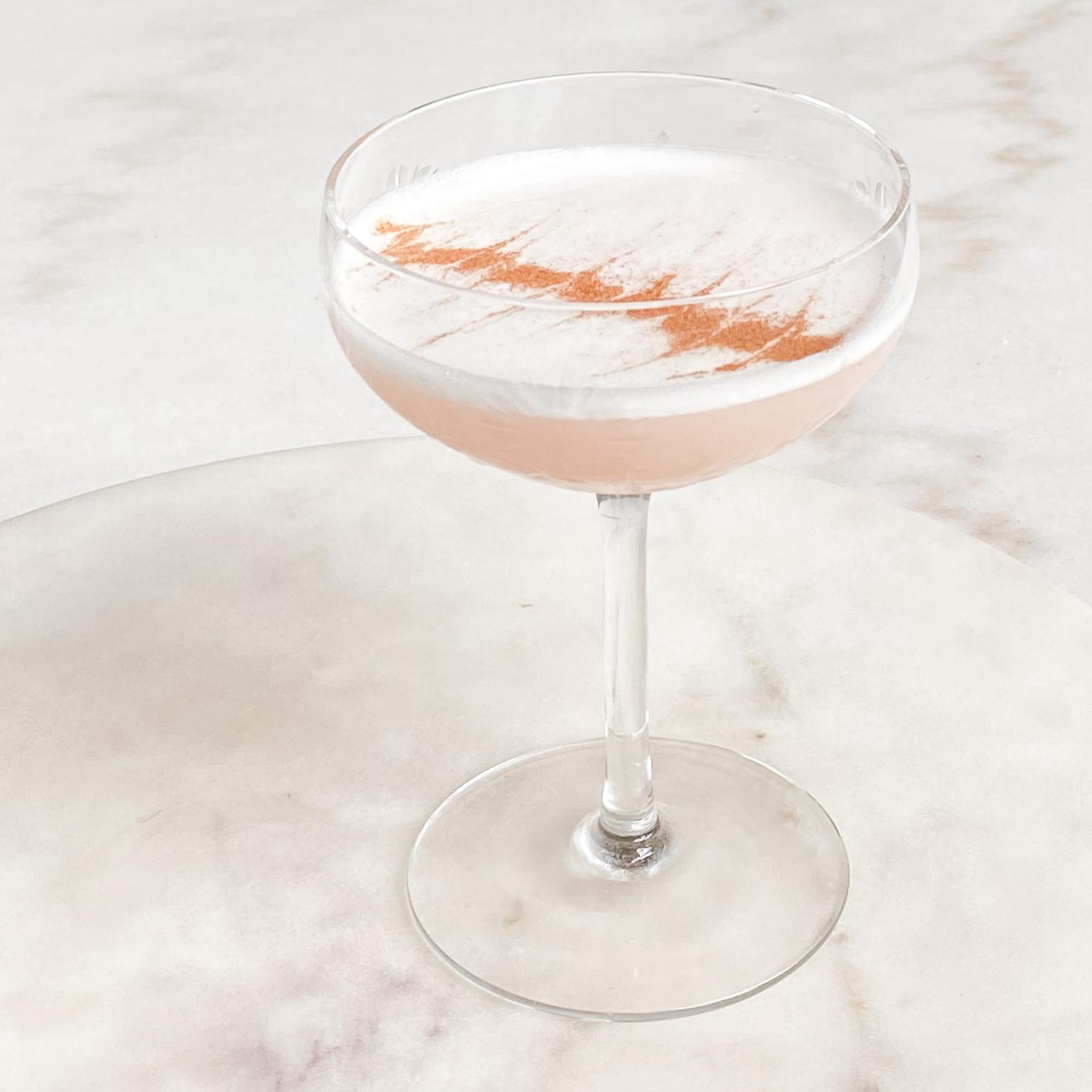 Rhubarb Cinnamon Sour