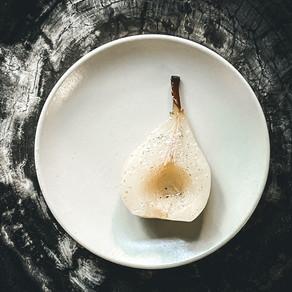 Vanilla Poached Pears