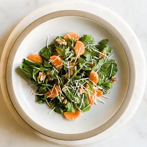 Persimmon-Arugula Salad