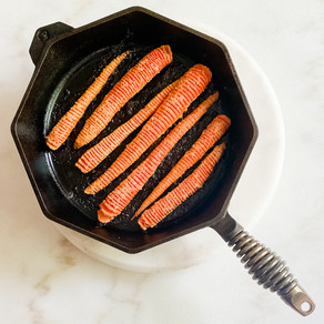 Ginger-Garlic Hasselback Carrots
