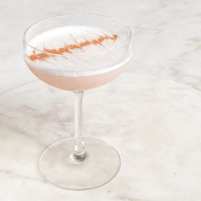 Rhubarb-Cinnamon Sour