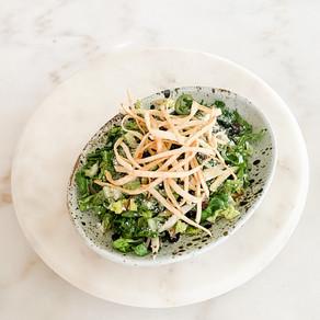 Escabeche + Smoky Black Beans Salad