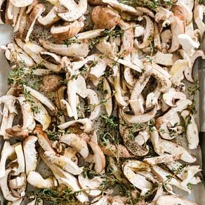 Roasted Mixed Mushrooms