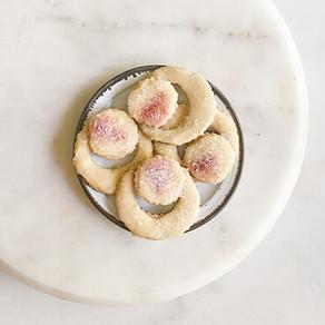 Peach Ring Sugar Cookies