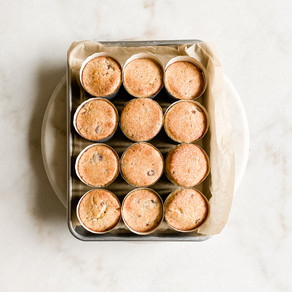Cranberry Orange Buttermilk Muffins