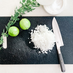 Lime Salted White Onion