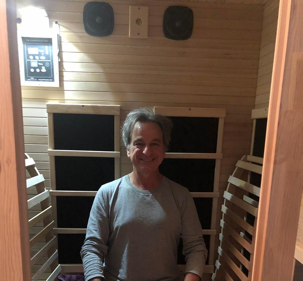 empty nesters finally brad in home sauna