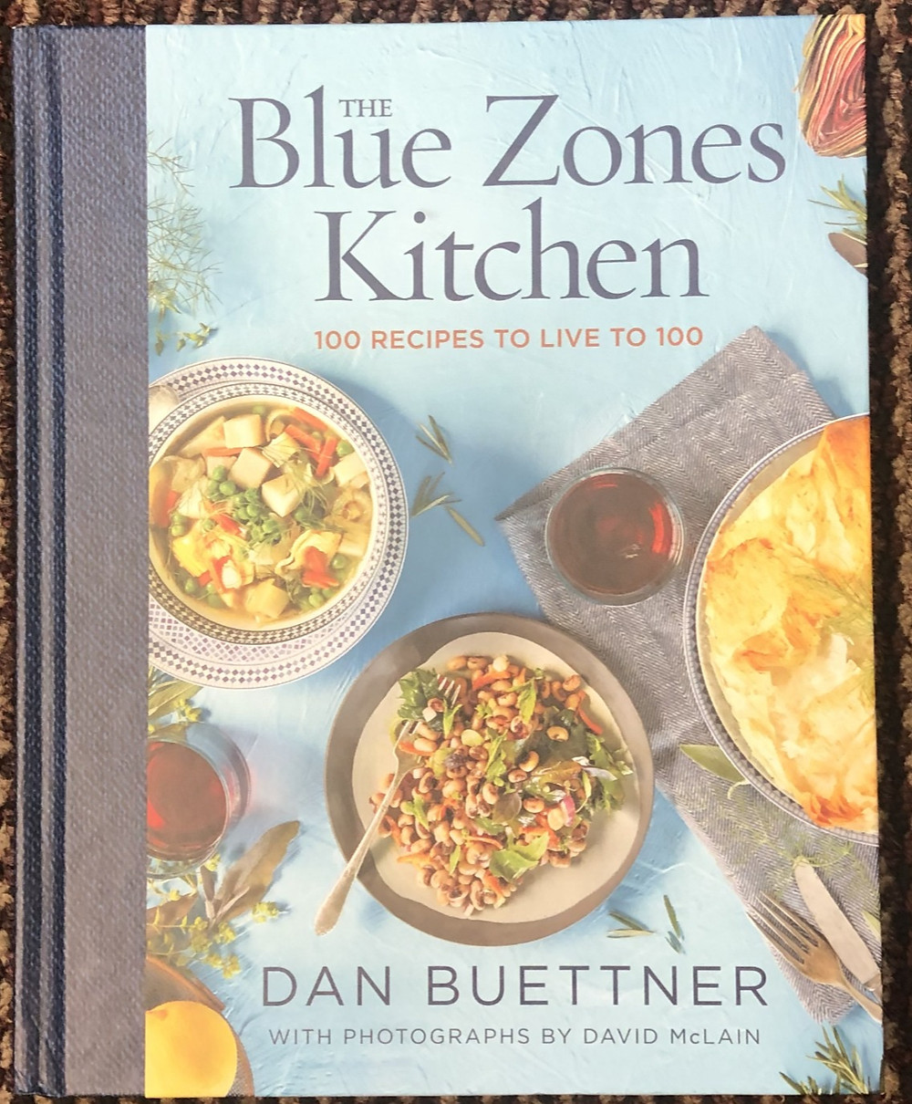 COOKBOOK WITH DELICIOUS LONGEVITY RECIPES