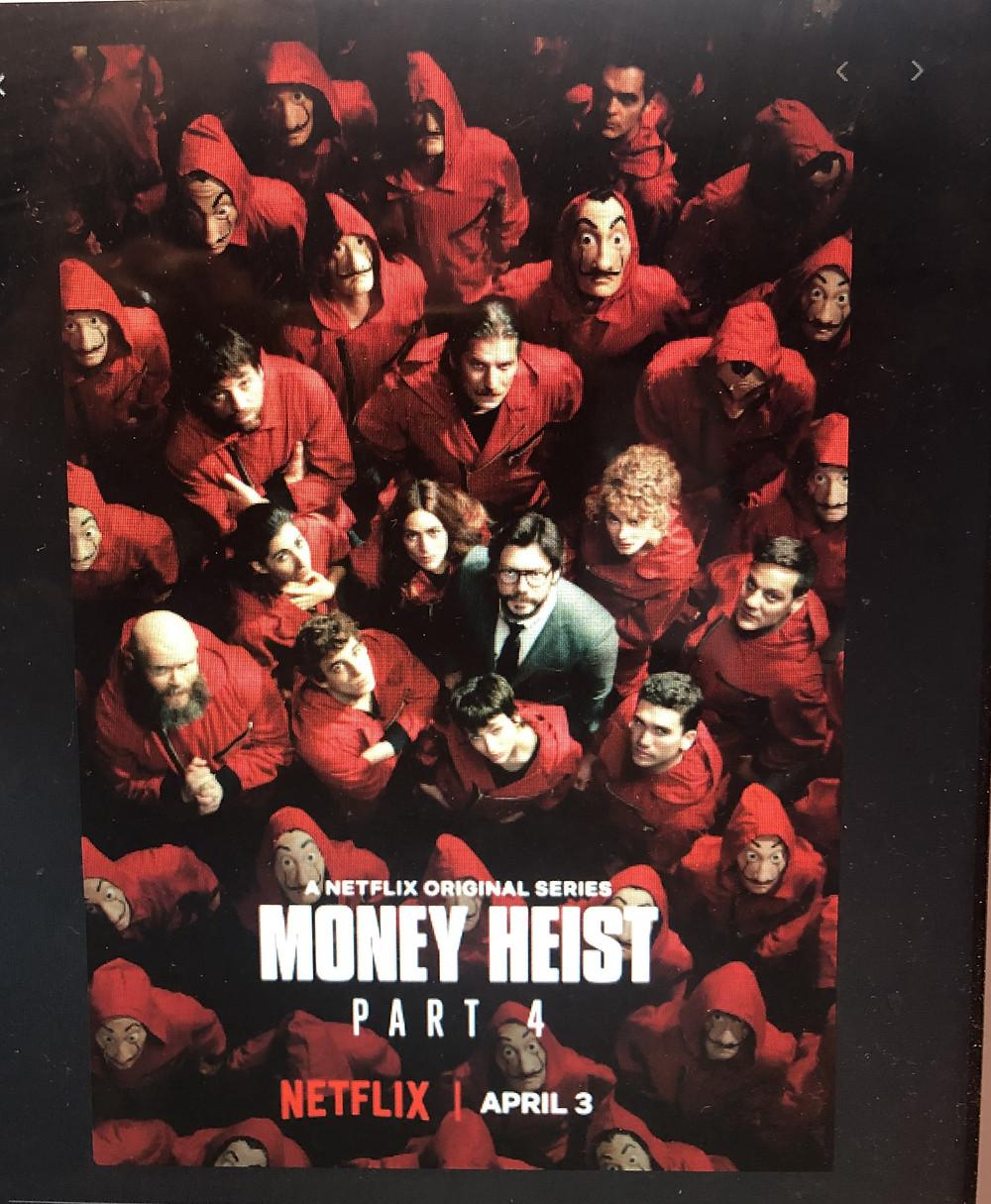 CAST OF MONEY HEIST - TV SHOW