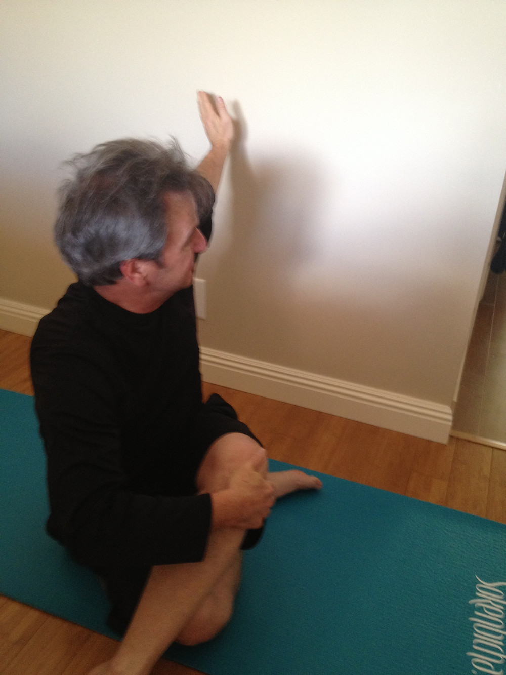 empty nesters finally, yoga