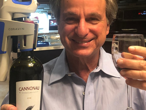 100 YEARS YOUNG WITH EMPTY NESTERS FINALLY FEBRUARY FAVE... CANNONAU WINE OF COURSE