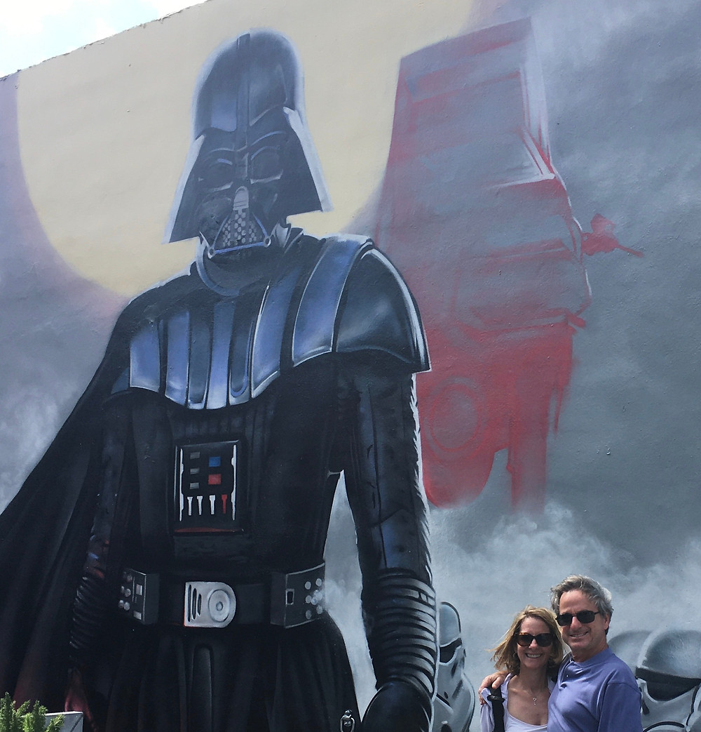 Empty Nesters Finally have love Star Wars movies but have love/hate relationship with Darth Vader and Storm Troopers