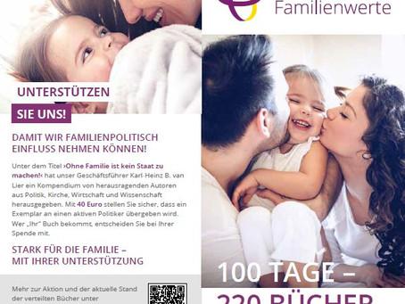 Bundestagswahl: auf Ihre Unterstützung an!