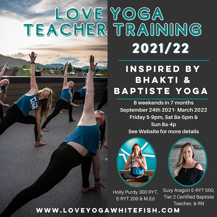 Love Yoga 2021 Fall Yoga Teacher Trainin