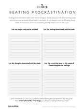 Break Procrastination - TJM LifeClub - P