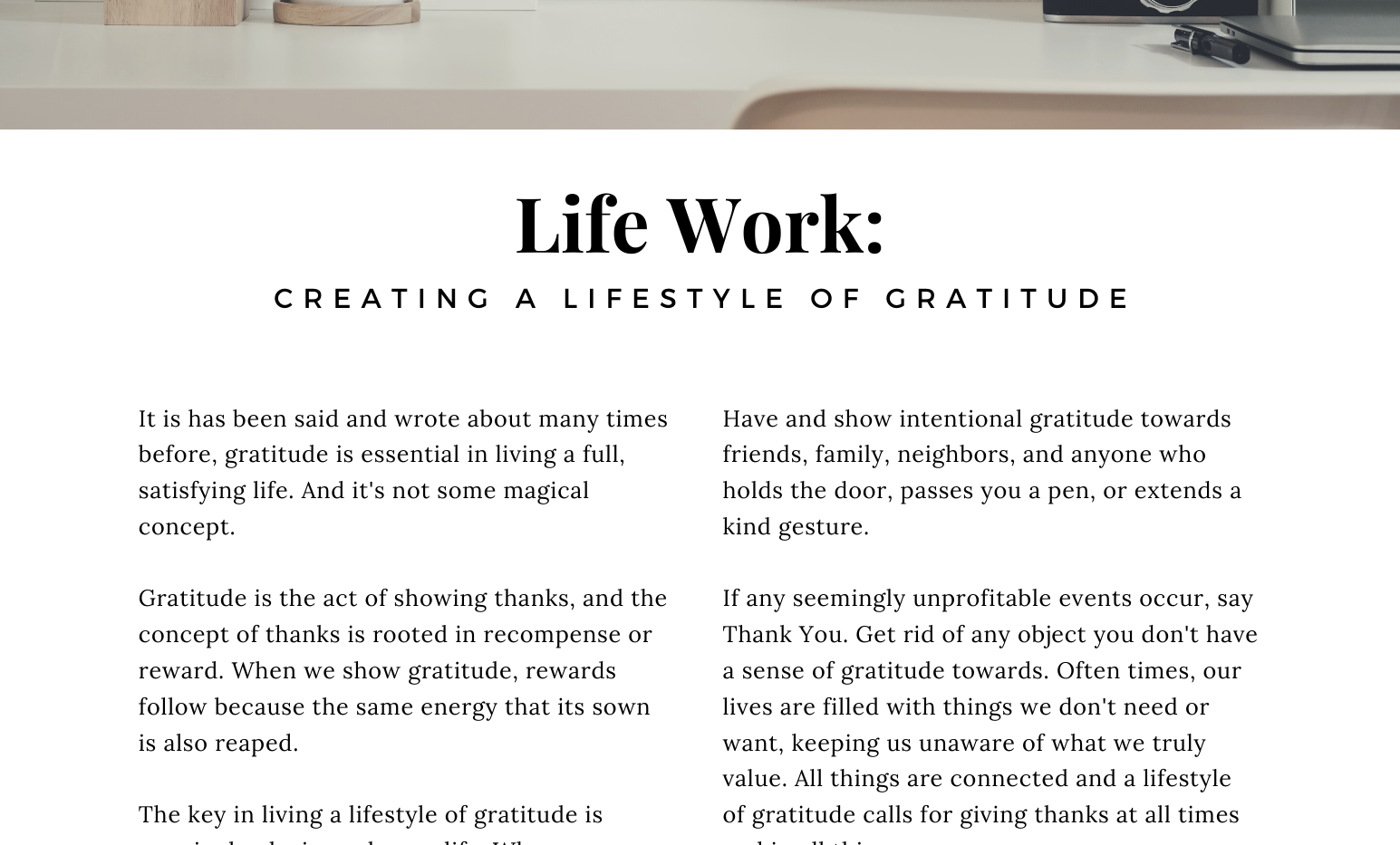 Curated, A TJM Publication - October's Life Work
