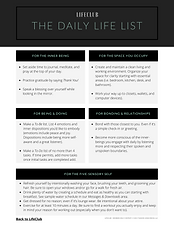 The Daily Life List