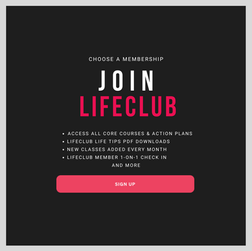 Join The Club for Courses & More Monthly or Annual Membership