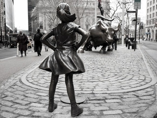 Stay strong Fearless Girl!