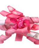 Pink Ribbon Bow  A-18