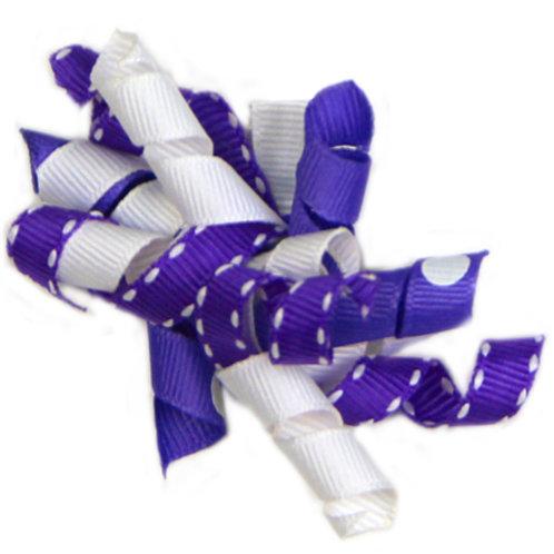 Purple Ribbon Bow A-09