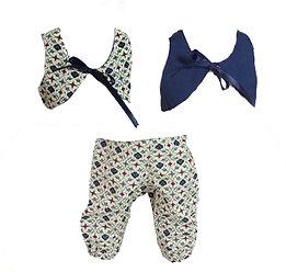 Pants & Reversible Vest P-06