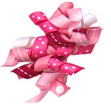 Pink Ribbon Bow  A-16