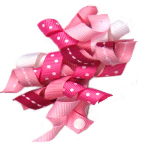 Pink Ribbon Bow A-16