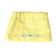 Yellow Skirt with Embroidered Heart  S-04
