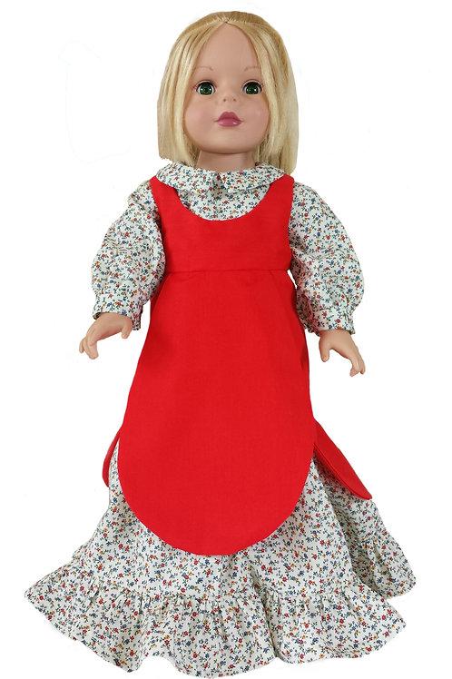 Calico Dress & Pinafore D-06