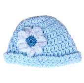 Crochet Hat Denim  A-03
