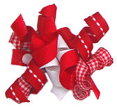 Red Ribbon Bow  A-14