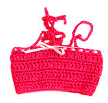 Hot Pink Bandeau Top  P-10
