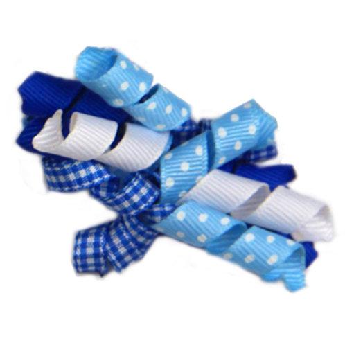 Blue Ribbon Bow A-13