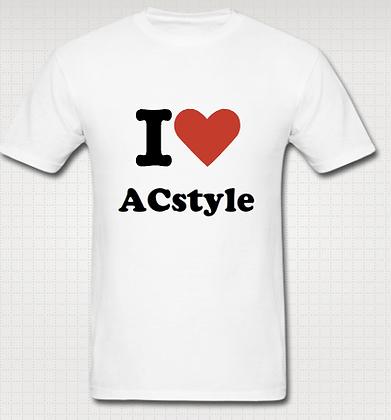 I Love ACstyle Tee (Unisex)