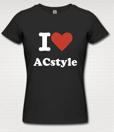 I Love ACstyle Tee (Women)