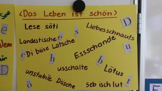 Förderklasse Lütisburg 3 bis 6tes Schuljahr