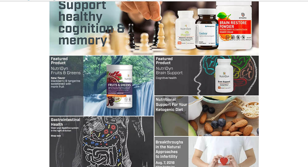 Visit the website to begin your journey to a Healthier, Happier, more Energetic You!