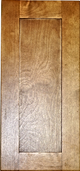 toffee color wood kitchen cabinet shaker panel sample