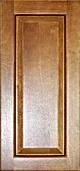 light toffee wood kitchen cabinet raised panel sample
