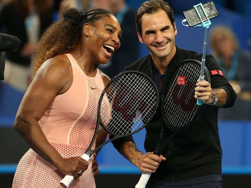 Roger tops Serena in epic mixed doubles match
