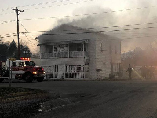 Fire related death in Middlesboro