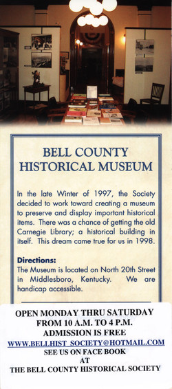 Bell Historical Brochure Back