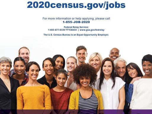 Census Bureau Begins Recruiting Effort for 2020 Census Jobs